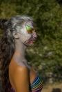 Model Annachiara Pierini - Face painting Piera Maniidiplotter Di Maio